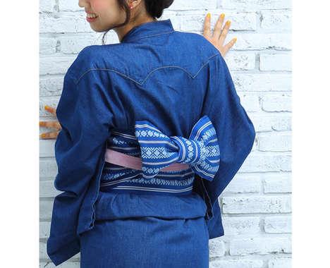 Denim Kimonos