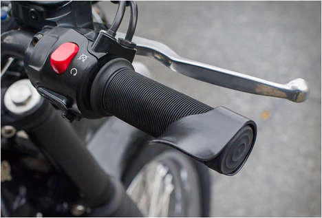 Fatigue-Reducing Motorcycle Grips - This Motorcycle Accessory Helps Prevent Fatigue and Cramping