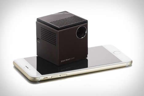 Miniature Laser Projectors - This Mini Projector Delivers Maximum Resolution and Brightness