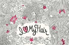 Hairstyle Coloring Books - This Activity Book Depicts Unique and Diverse Hairstyles