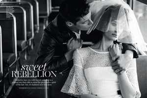 The Marie Claire Australia Sweet Rebellion Editorial is Traveller Themed
