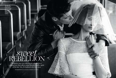 Bus Tour Photoshoots - The Marie Claire Australia Sweet Rebellion Editorial is Traveller Themed