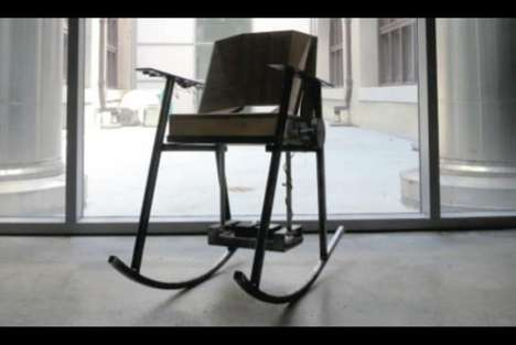 Energy-Generating Rocking Chairs - The 'Volta' Harnesses the Power of a Chair's Rocking Motion