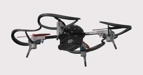 Customizable Mini Drones - The Micro Drone 3.0 From Extreme Fliers Fits in the Palm of Your Hand