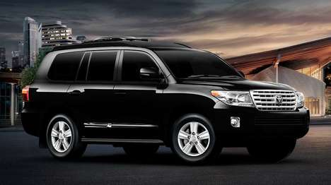Luxurious Armored SUVs - The Lexani Land Cruiser Keeps You Secure and Looking Right