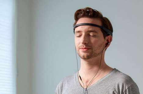 Meditation-Enhancing Headbands - The Muse Headband Works to Train and Relax One's Brain
