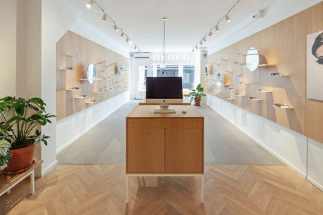 Minimalist Eyewear Boutiques - Ace & Tate is an E-tailer with a New Physical Outpost in Amsterdam