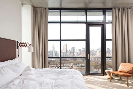 Understated Luxury Hotels - Each Room at the Boro Hotel Boasts Floor-to-Ceiling Windows