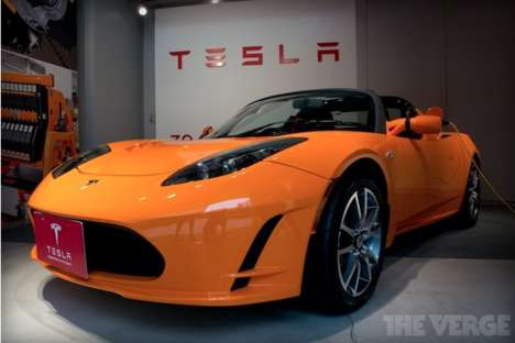 Speedy Electric Car Updates - An Upgraded Tesla Roadster Will Be Hitting the Market in Four Years