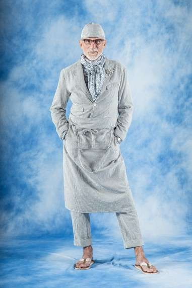 Eccentric Elderly Lookbooks - The Engineered Garments Spring Lookbook Features Senior Citizens