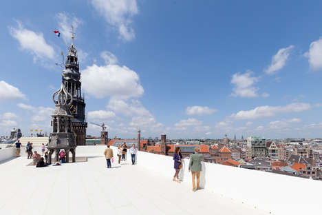 Church Rooftop Viewing Platforms - Amsterdam's Oude Kerk Gets a Viewing Platform for Summer 2015