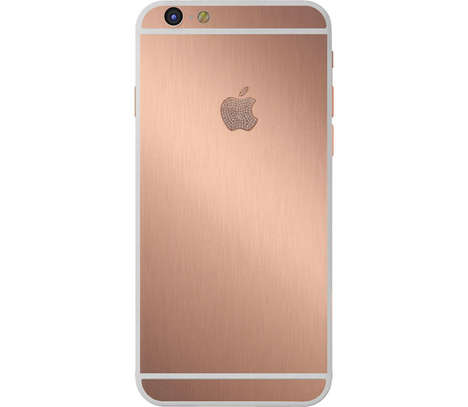 Pink Gilded Smartphones - This Rose Gold iPhone 6 Plus is Features 24 Carats of Utter Luxury