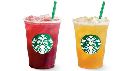 Cold Carbonated Teas - Starbucks Added Tropical Fizzy Teas to Its Summer Menu