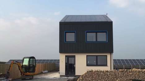 Energy-Positive Homes - Solcer House Generates More Energy Than It Needs