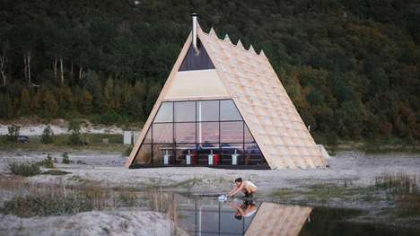Gigantic Public Saunas - The Arctic Circle Houses the World's Largest Public Sauna