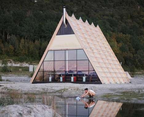 Gigantic Public Saunas