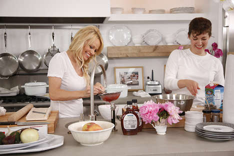 Cruelty-Free Cooking Shows - Pamela Anderson's Vegan Cooking Show Makes Animal-Free Food Fun