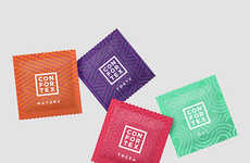 Patterned Condom Packaging