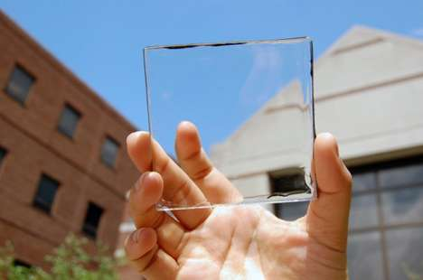 Solar Panel Windows - This Innovation Turns Solar Cell Technology Completely Transparent