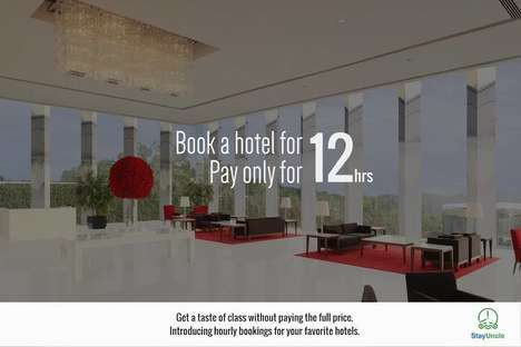 Half-Day Hotel Rentals - This Online Reservation Tool Allows You to Book Limited Hotel Stays