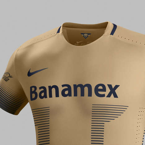 Mexican-Inspired Jerseys - The New Pumas Jersey Features Tradition-Infused Graphic Patterns