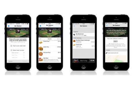 Concession Stand Order Apps - Qkr! by MasterCard is an App-Based Ordering and Payments Platform