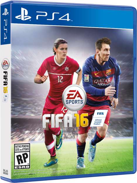 Female Athlete Video Games - The 2016 FIFA Video Game will Feature Female Soccer Stars