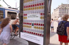 Ice Cream-Dispensing Billboards - The Heat Reactive McDonald's Ad Gave 100 Customers a Free McFlurry