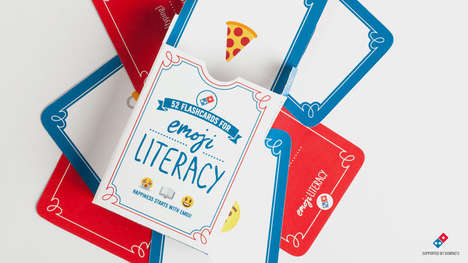 Silly Emoji Campaigns - Emoji Literacy by Domino's is Helping More People Read and Write Emoticons