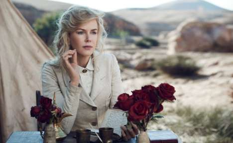 Cinematic Safari Photoshoots - The Nicole Kidman Vogue US Editorial is Full of Retro Glamor