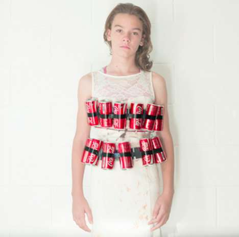 Deathly Diet Campaigns - Warwick Thornton Presents Kids with Fast Food Bombs Strapped to Them