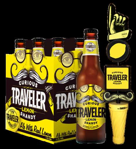 Citrus-Infused Beers - The 'Curious Traveler' Beer Offers a Take on the Classic European Shandy