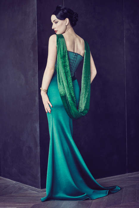 Celebratory Couture Collections - This Alexis Mabille Fall Collection Marks Ten Years of Couture