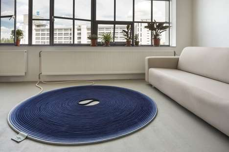 Asthma-Friendly Carpets - This Heated Rug Kills Off Any Dust Mites Living Inside of It