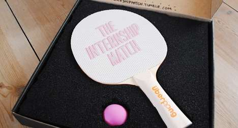 Competitive Intern Applicants - Cathrine Understrup Challenges Dream Workplace to a Ping Pong Game