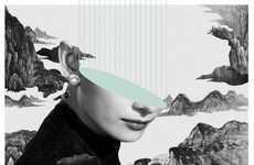 Kayan Kwok Puts a Surreal Spin on Classic Audrey Hepburn Portraits