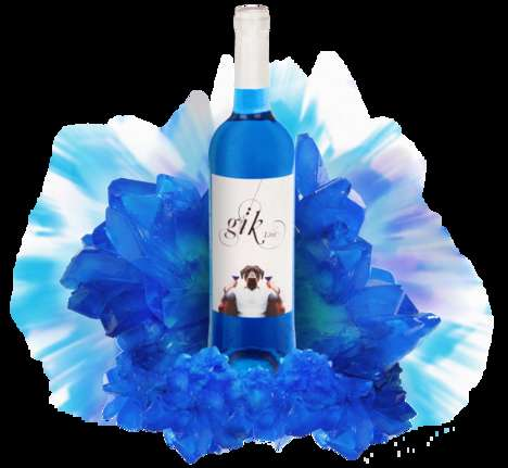 Blue-Hued Wine - This Spanish Blue Wine is Best Served Cold Due to Its Sweet Aromatic Flavors