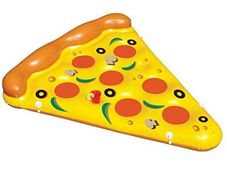 Pizza Pool Toys - This Amazing Food-Inspired Pool Floatie Might Make You Hungry While Swimming