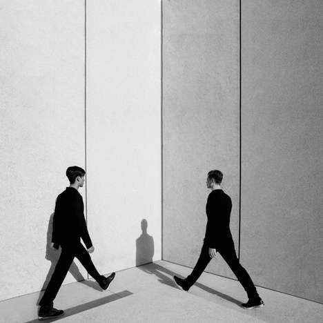 Minimalist Faceless Photography - These Black & White Images are Taken from Behind People