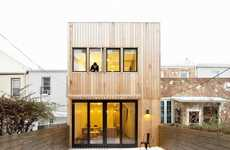 Modern Box Residences - Office of Architecture's Brooklyn Hut Project Celebrates Simplicity
