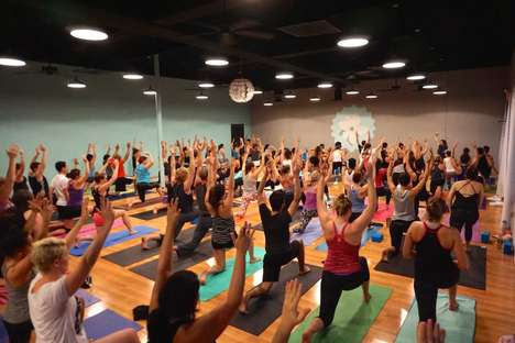 Diva-Inspired Yoga Classes - Yoga Eado Inspires a Fun Practice with a Celebrity Yoga Soundtrack