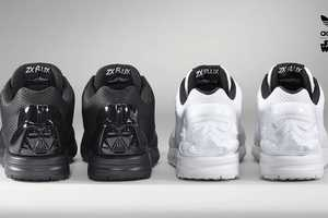 The Star Wars x Adidas ZX Flux Collection Portrays Geeky Glamour