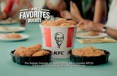 Familial Fast Food Ads - The KFC 'Together' Campaign Highlights Family Dinner Traditions
