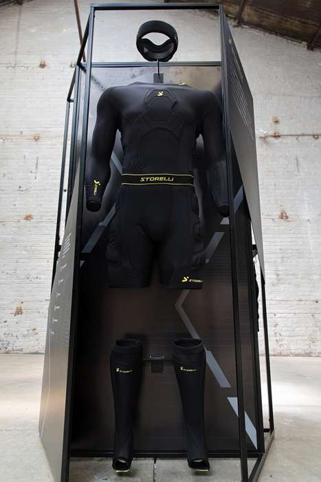 Heroic Clothing Displays - Eight Inc Presents Its Products as Essentials of a 'Superhero Closet'