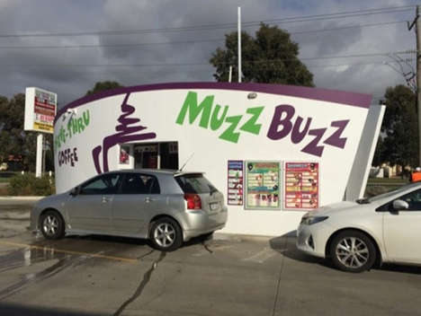 Double-Sided Drive-Throughs - Muzz Buzz Arrives in Japan with a Novel Drive-Through Coffee Stop