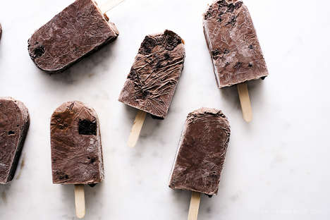 DIY Fudgesicle Desserts - Iamafoodblog's Tasty Recipe Gives Frozen Treats a Healthy Makeover