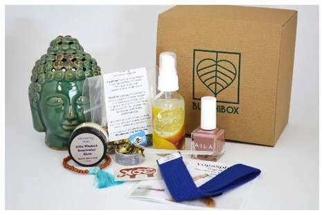 Mindful Subscription Boxes - BuddhiBox Supplies Monthly Gifts to Enhance a Yoga Practice