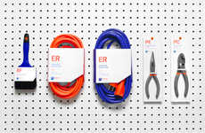 Graphic Home Improvement Branding - The Indumex Hardware Store Brand Identity Embraces Consistency
