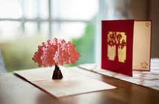 Laser Cut Pop-Up Cards