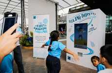 Exercise-Dependendant Water Machines - This Machine Requires Users to Run for Clean Drinking Water